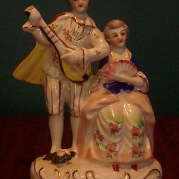 """Occupied Japan"" porcelain figurine - Pottery"