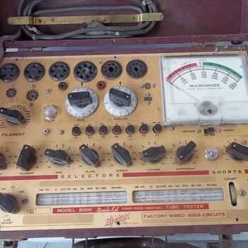 TUBE TESTER - Electronics