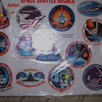 some of my space shuttle collection - Paper