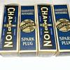 Vintage Champion spark plugs