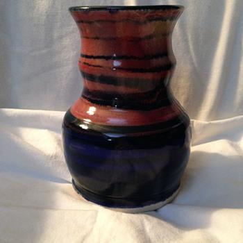 Steve Sides signed Vase - Pottery