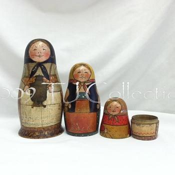My Favorite Old Russian Matryoshka Dolls - Dolls