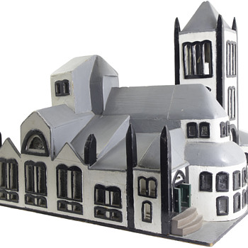 Wooden Church - Folk Art