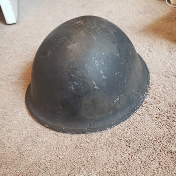 Old Helmet  - Military and Wartime