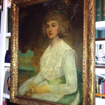 George Romney Mrs Mark Currie 1789 ??????