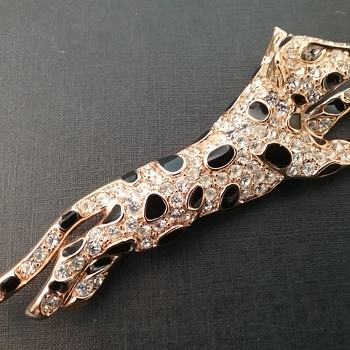 Trifari leopard brooch  - Animals