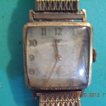 Vintage Wittnauer men's wrist watch - Wristwatches