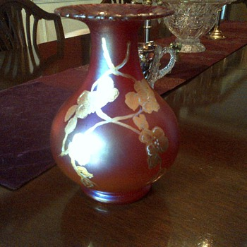 Loetz? Stueben?  Other Irridescent Glass? - Art Glass