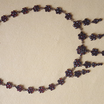 Bohemian Garnet Necklace - Fine Jewelry