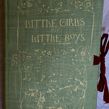 Little Girls and Little Boys by Mrs Arthur Gaskin 1898