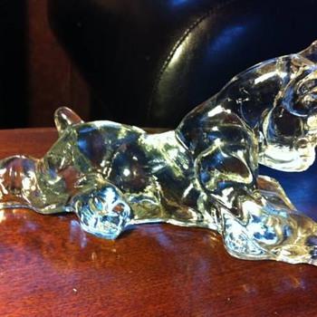 Help identify my glass dog?! - Glassware