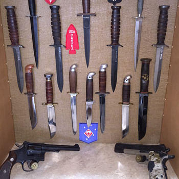 WWII Edged Weapons Collection - Military and Wartime
