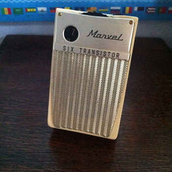 Marvel Six Transistor radio.