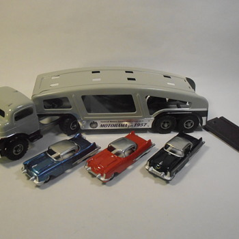 Structo Toy Truck GMC Motorama Prototype - Model Cars