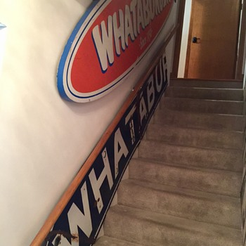 SUPER RARE 1950s WHATABURGER SIGN - Signs