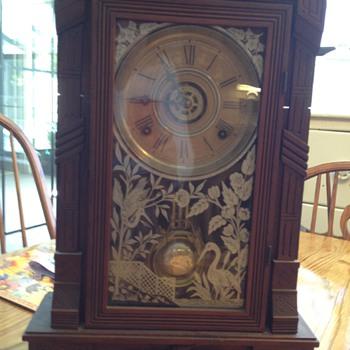 Gilbert parlor clock