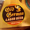 Old German Style Lager Beer by White Crown Tin Sign