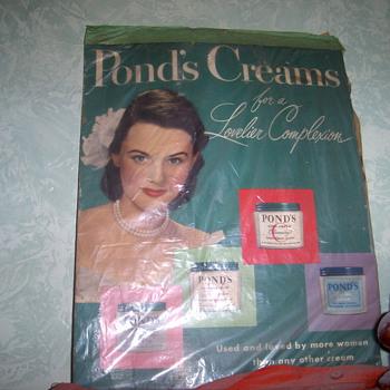 Ponds litho - Advertising