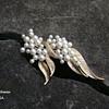Trifari Pearl Brooch - Gems of the Sea