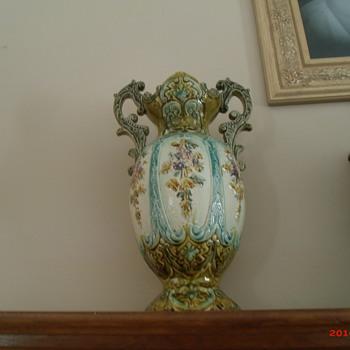 Correction: Austrian-Bohemian majolica vase
