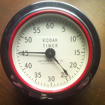 Kodak Timer. Eastman Kodak Co. Clock. - Clocks