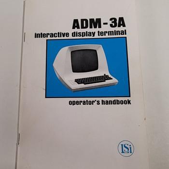 1975 ADM-3A Operator's Handbook - Electronics