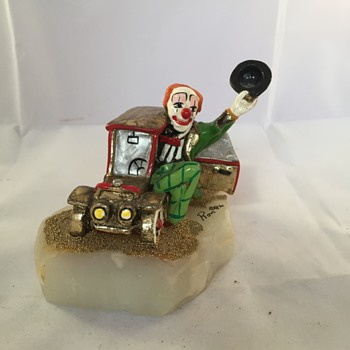 Second Ron Lee Clown from 1984 - Figurines