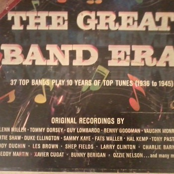 the GREAT BAND ERA .a 10 lp box set and bonus lp called jam session - Records