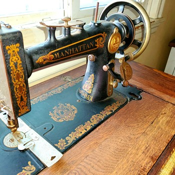 National Sewing Machine - Manhattan   - Sewing