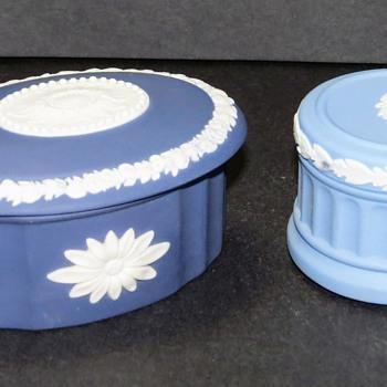 Wedgwood Jasperware - 2 small boxes - China and Dinnerware