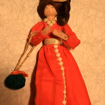 Wooden Peg Doll - Dolls