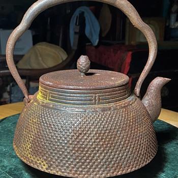 Old Rusty Tea Kettle - Japanese - Tetsuban? - Asian