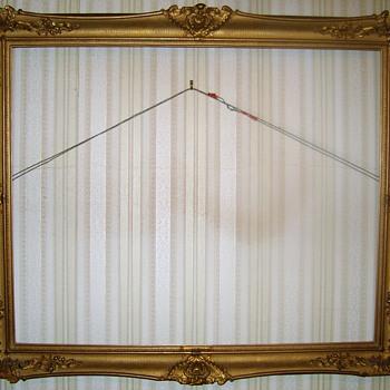 Rococo revival picture frame - Victorian Era