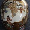 Kutani Kinkozan porcelain vase
