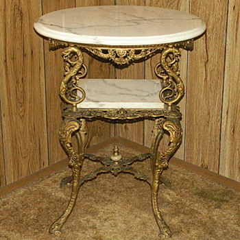 Antique Victorian Plant Stand - Furniture