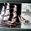 "Revelle Ship Model Kit #5404 /U.S.S. Constitution ""Old Ironsides"" NOS/Circa 1979"