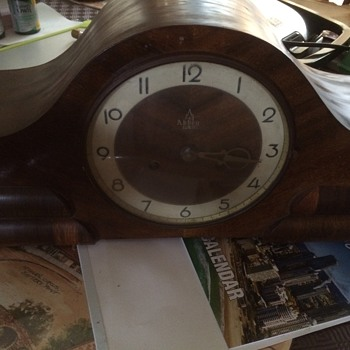 Mother-in-laws Abbey Mantel Clock