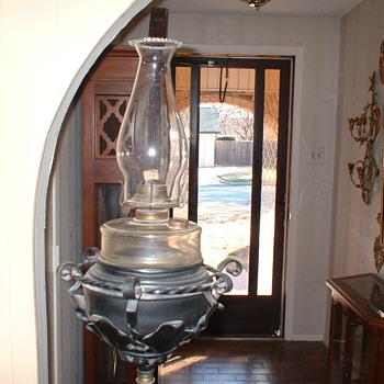 Piano/Organ Kerosene Lamp - Lamps