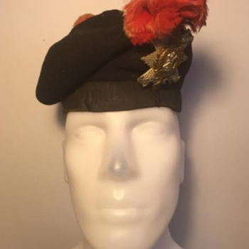 WWI Black Watch Officer's Balmoral Bonnet  - Military and Wartime