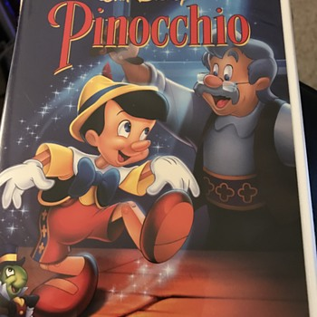 Disney Pinocchio DVD - Blank DVD released 1999