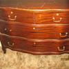 Antique locking dresser