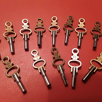 Pocket watch keys - Pocket Watches