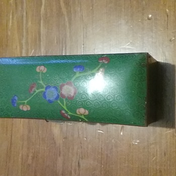 Cloisonne box - Asian