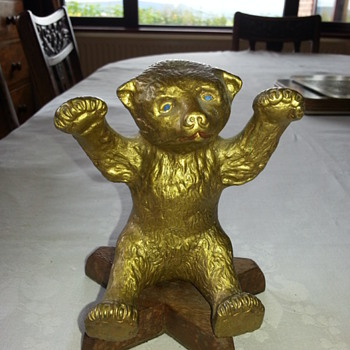 Vintage Bear  - Car Mascot? - Classic Cars