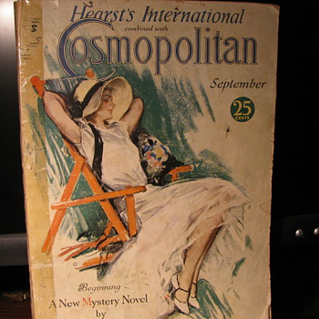 1931 Hearst's International Cosmopolitan Magazine - Paper