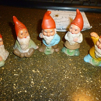 West German Heissner gnomes - Toys