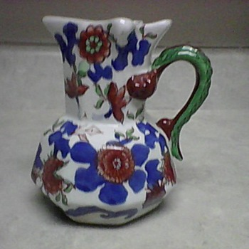 IRONSTONE PITCHER - Pottery