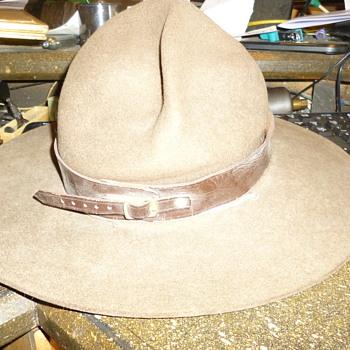 boy scout hat