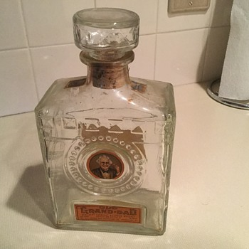 Old Grand-Dad Whiskey Bottle Decanter - Bottles