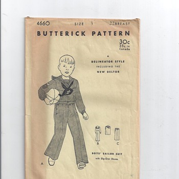 LITTLE BOYS PATTERNS  - Sewing